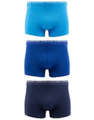 3-Pack Seasonal Solids Short Shorts