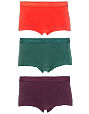 3-Pack Basic Seasonal Solids Mini Shorts björn borg