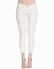 Fringed Skinny Jeans nly design