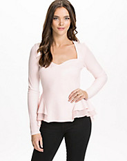 Structured Jersey Top
