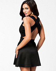 Cross Back Scuba Dress