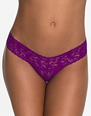 Low Rise Lace Thong