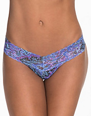 Blue Paisley Low Rise Thong