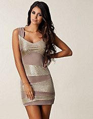 Glitter Stripe Bodycon