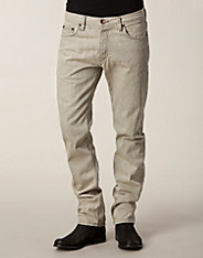 Slim's Fit Selvedge Tanne