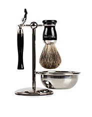 4 Part Shaving Set in Black