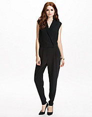 Charlotte Smooth Techno Twill Jumpsuit