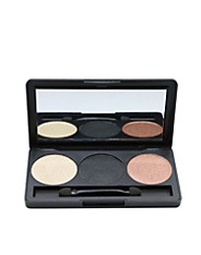 3 Color Smoky Eyeshadow Palette