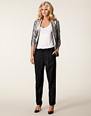 Loose Double Pleated Pant