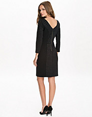 Stud Vback Ponte Dress