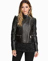Quilted Panel Moto michael michael kors