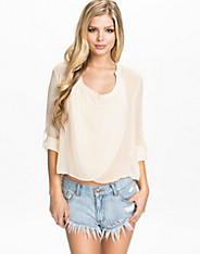 Chiffon Detailed Wrap Blouse