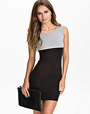 Colourblock Bodycon Dress