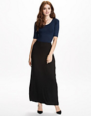 Colour Block Maxi Dress