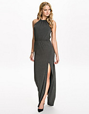 Knot Split Jersey Maxi Dress