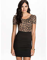 Leopard 2 in 1 Dress
