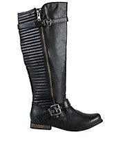 River Island Ridged Knee High