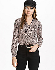 Rosa Long Placket Top