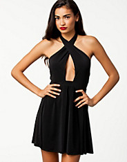 Skater Cut Out Dress