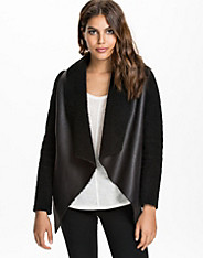 Draped Teddy Jacket