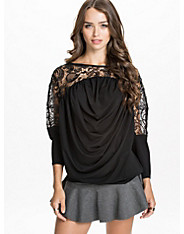 Drapy Lace Top