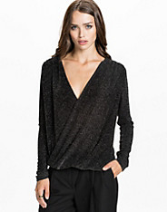 Twisted Lurex Top