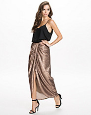 Sequins Long Skirt