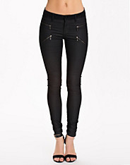 Four Slim Zip Pants