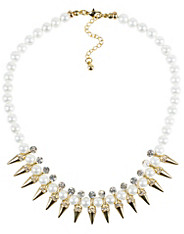 Chrystal Pearl Necklace
