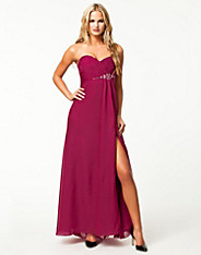 Tube High Split Dress