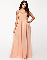 Strapless Decor Dress