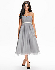 Flaired Tulle Dress