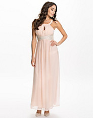 Key Hole Front Maxi Dress