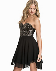 Rock/Chic Bustier Skater Dress