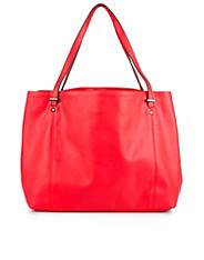 Red Slouchy Shopper