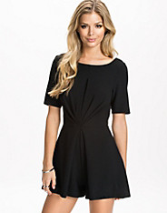 Twist Back Crepe Playsuit