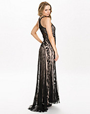Deco Beaded Maxi Dress