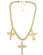 Heavy Cross Necklace