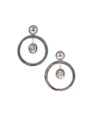 Lion Hoop Earrings