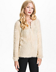 The Zip Fluffly Sweater