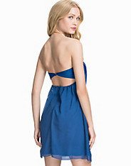 Bandeau Chiffon Dress