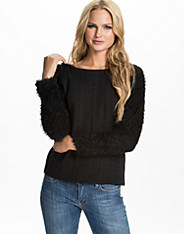 Fluffy Sleeved Sweater