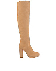 Loose Knee High Boot