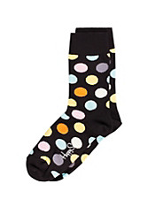 Happy Big Dots Socks