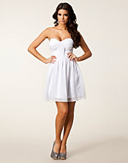 Rouched Bandeau Dress