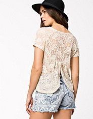 Fluttery Lace Top