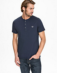 Concealed Tape Henley Shirt