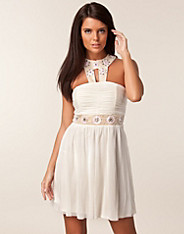 Mesh Double Trim Dress