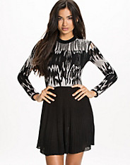 Electra Knitted Lace Dress