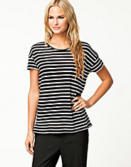 Only - Tanya Stripe Zip Top